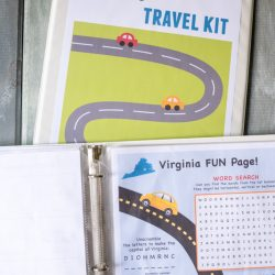 Kids' Travel Kit Binder + Over 150 Free Printable Activities