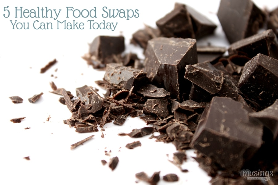 Trying to eat healthier? Here's 5 easy healthy food swaps you can make today!