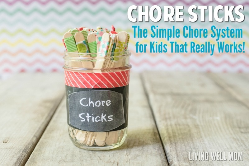 Chore Sticks The Simple Diy Chore System For Kids That Really Works