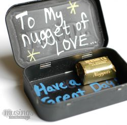 Lunch Box Note & Treat Holder