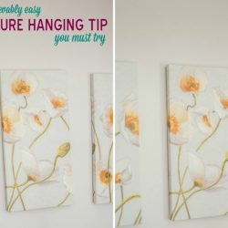 The Unbelievably Easy Picture Hanging Tip You Must Try