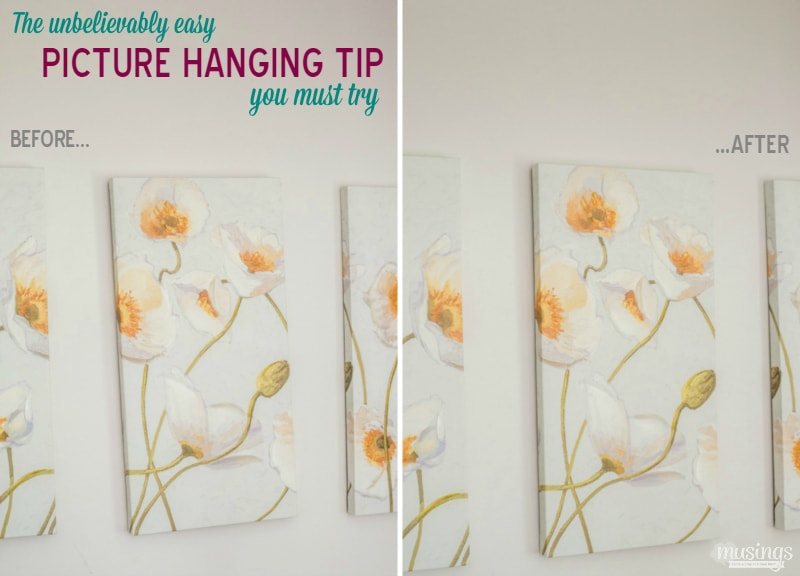 The Unbelievably Easy Picture Hanging Tip You Must Try Living Well Mom