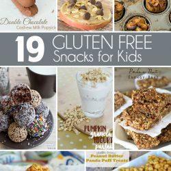 19 Gluten Free Snacks for Kids