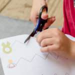 Scissors Cutting Practice for Preschoolers