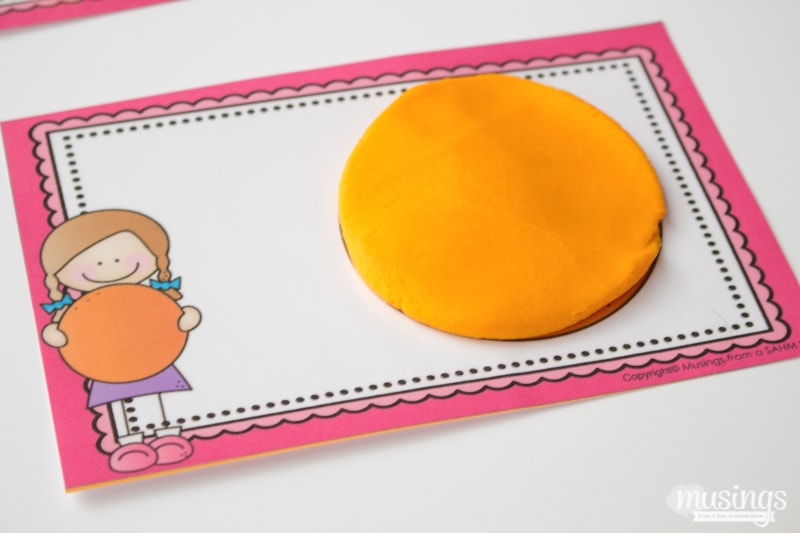 ... dexterity too. Download your free printable shape mats for kids here
