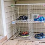 Easy Shoe Organizer for Kids