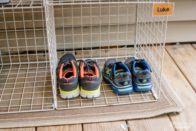 Keep Your Kidsu0027 Shoes Organized With This Easy DIY Shoe Organizer. Since  Each Child