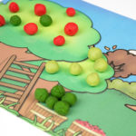 Printable Apple Playdough Mats