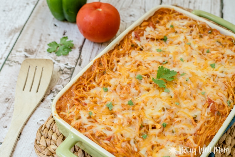 Southwestern Turkey Pasta Bake recipe: with a flavorful southwestern ...
