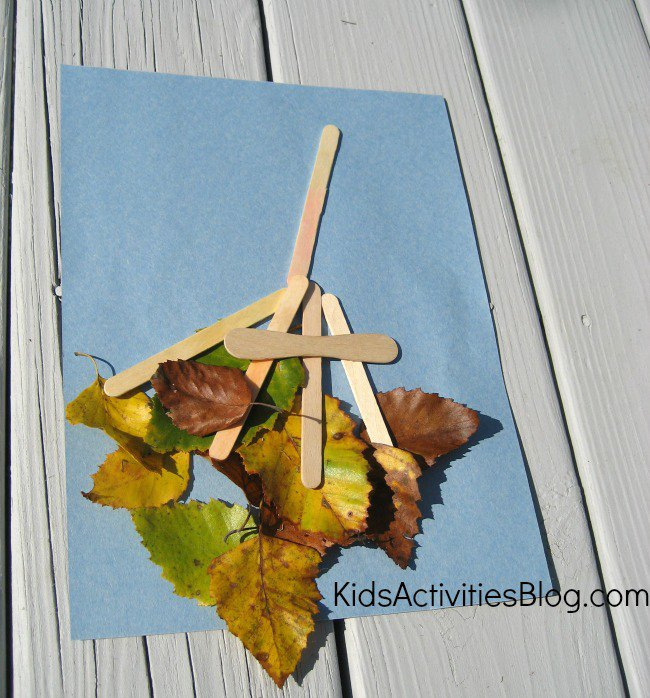 Fall Leaf Craft | Kids Activity Blog