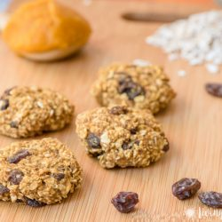 Healthy Pumpkin Oatmeal Cookies