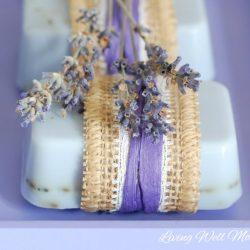 Easy Lavender Goat Milk Soap Recipe