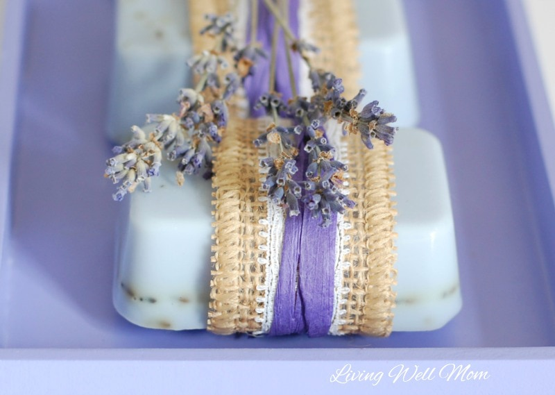 simply adore this easy Lavender Goat Milk Soap recipe. The soap is ...