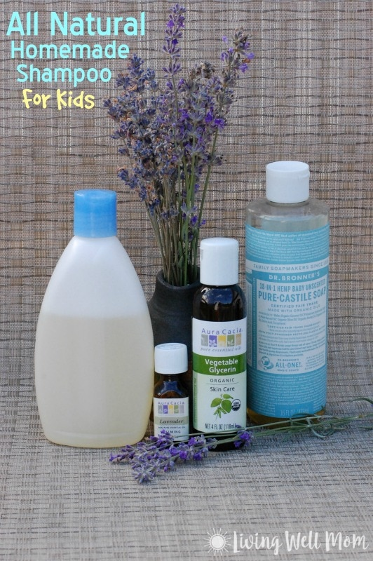 All natural homemade shampoo for kids - How to make shampoo at home naturally easy recipes ...