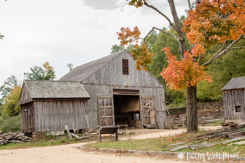 Old Sturbridge Village barn
