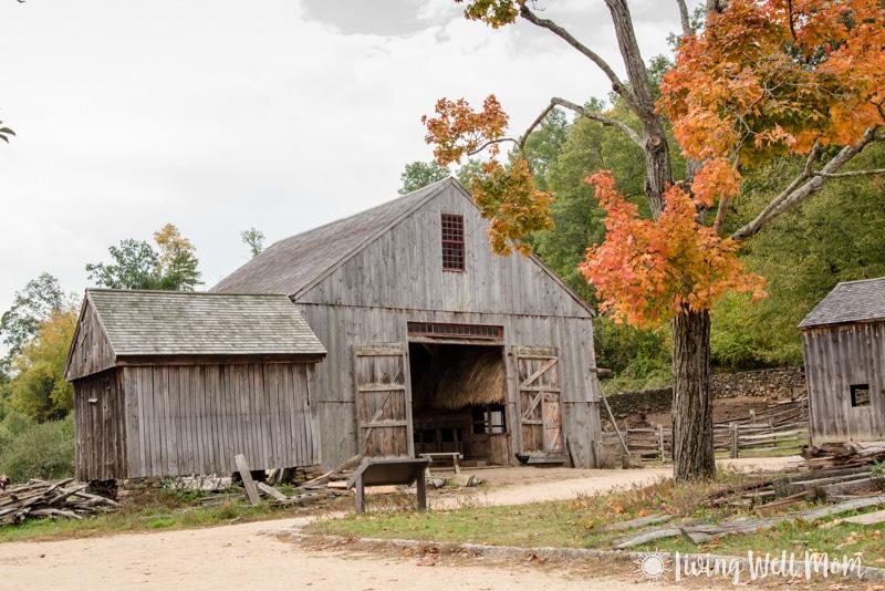 Old Sturbridge Village barn