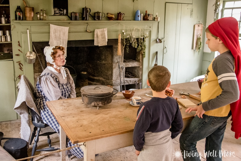 Old Sturbridge Village kitchen