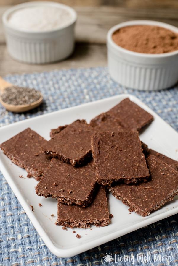 Paleo Chocolate Crunch Energy Bar Recipe Living Well Mom