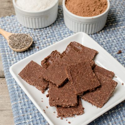 Paleo Healthy Chocolate Crunch Energy Bars