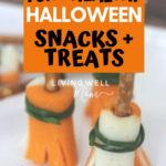fun healthy Halloween snacks and treats