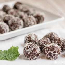Chocolate Mint Balls