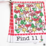Christmas Printable I Spy Cards