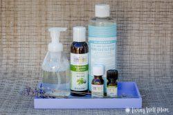 Homemade Liquid Foaming Hand Soap