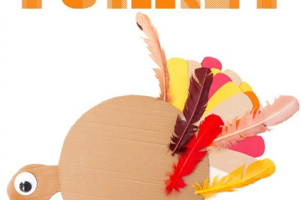 Here's fun twist on a classic party game - the whole family will love this Thanksgiving version - Pin the Tail / Feather on the Turkey!