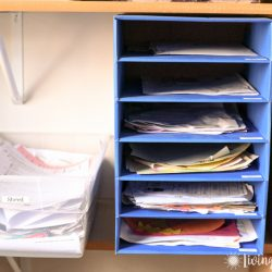 The Easy Way to Organize School Papers & Keep It That Way