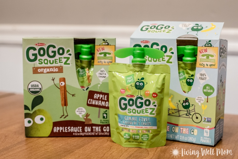 GoGo squeeZ applesauce pouches