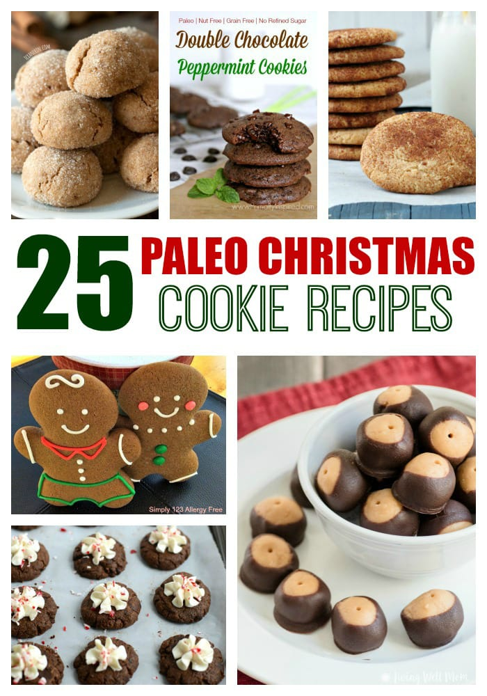 25 Paleo Christmas Cookies | Grain-free Paleo cookie recipes