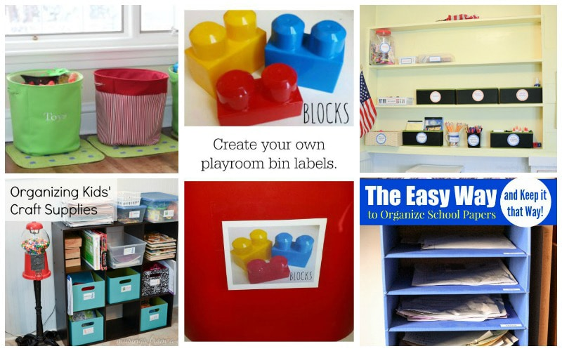 Simple Organization for Kids' Rooms - Ready to tackle clutter but not sure where to start? Here's 25+ simple organizing ideas for busy moms from moms that really work. From a simple toothbrush storage solution to getting kids to put their clothes away, these brilliant solutions will give you inspiration to fix those problem areas today.