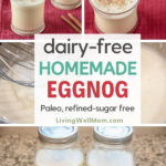 dairy-free homemade eggnog recipe