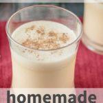 dairy-free paleo homemade eggnog