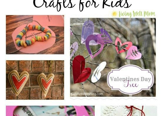 Looking for a fun Valentine's craft to do with your children but don't have time for a big project or mess? Here's a list of 25 super fun EASY Valentine's Day Crafts that both the kids and you will appreciate!!