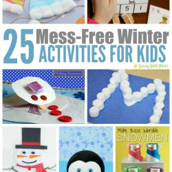 Mess Free Winter Activities