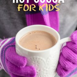 The Healthy Easy Hot Cocoa Recipe for Kids