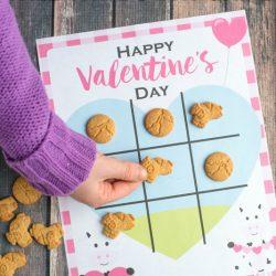 Valentine's Day Tic-Tac-Toe (Free Printable)