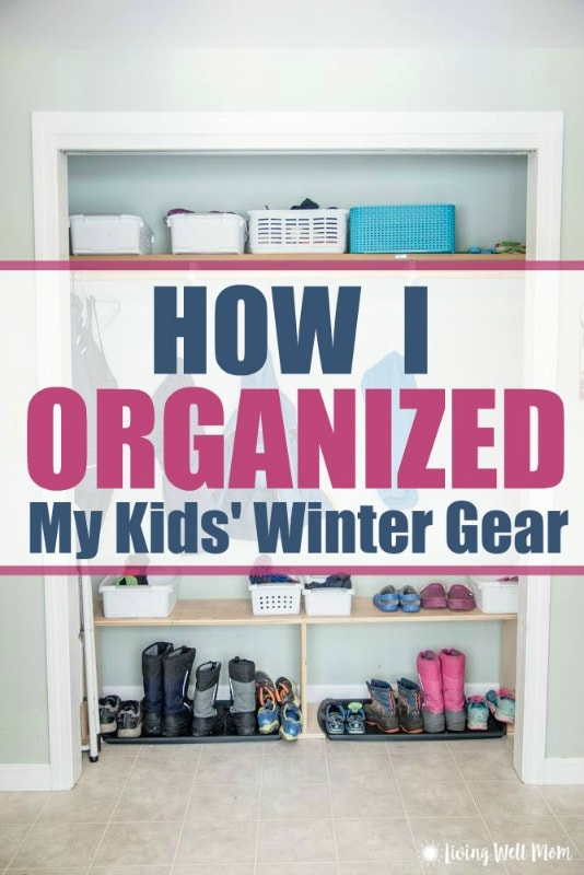 Having A Tough Time Getting Your Kidsu0027 Winter Gear Organized This Season?  Check Out