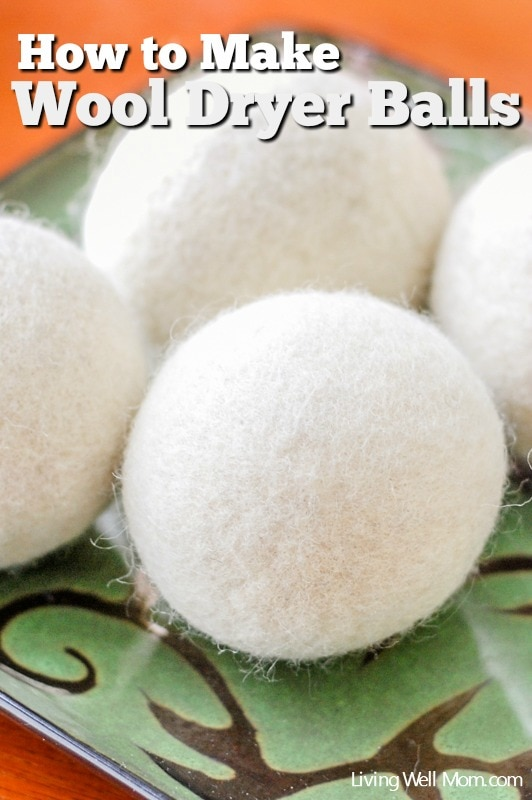 How To Make Wool Dryer Balls Living Well Mom