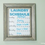 How a Laundry Schedule Saved My Sanity