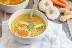 Healing Paleo Chicken Soup