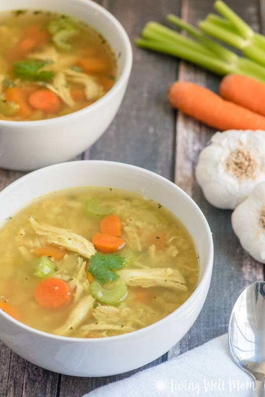 Healing paleo chicken soup recipe this easy to make paleo chicken soup recipe is gluten free grain forumfinder Choice Image