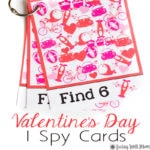 Valentine's Day I Spy for Kids {Free Printable}