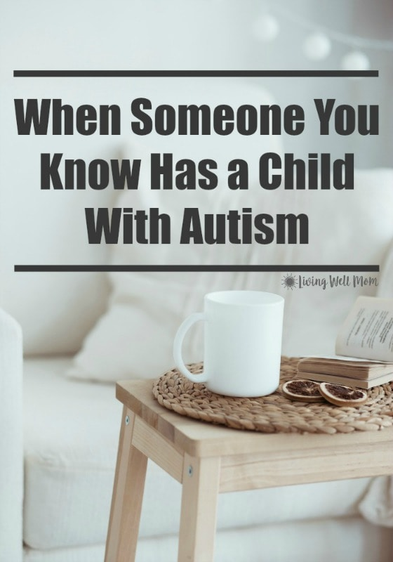 Do you know someone who has a child with autism? Here's a few interesting things you won't want to miss!