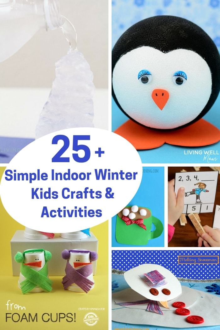 different indoor crafts for the winter