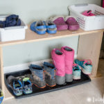 How I Organized My Kids' Winter Gear
