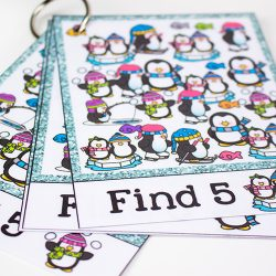 Winter I Spy For Kids {Free Printable}