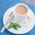 """Healthy"" Peppermint Hot Cocoa"