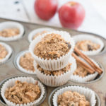 Gluten-Free Apple Oatmeal Muffins